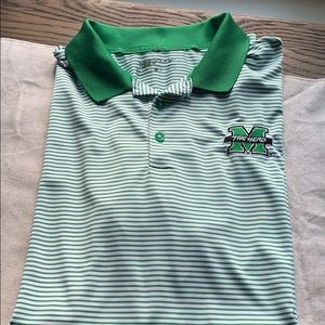 Marshall University Nike Golf polo
